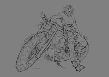 Motorbike by NesoKaiyoH