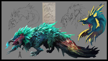 Dragon Concept by NesoKaiyoH