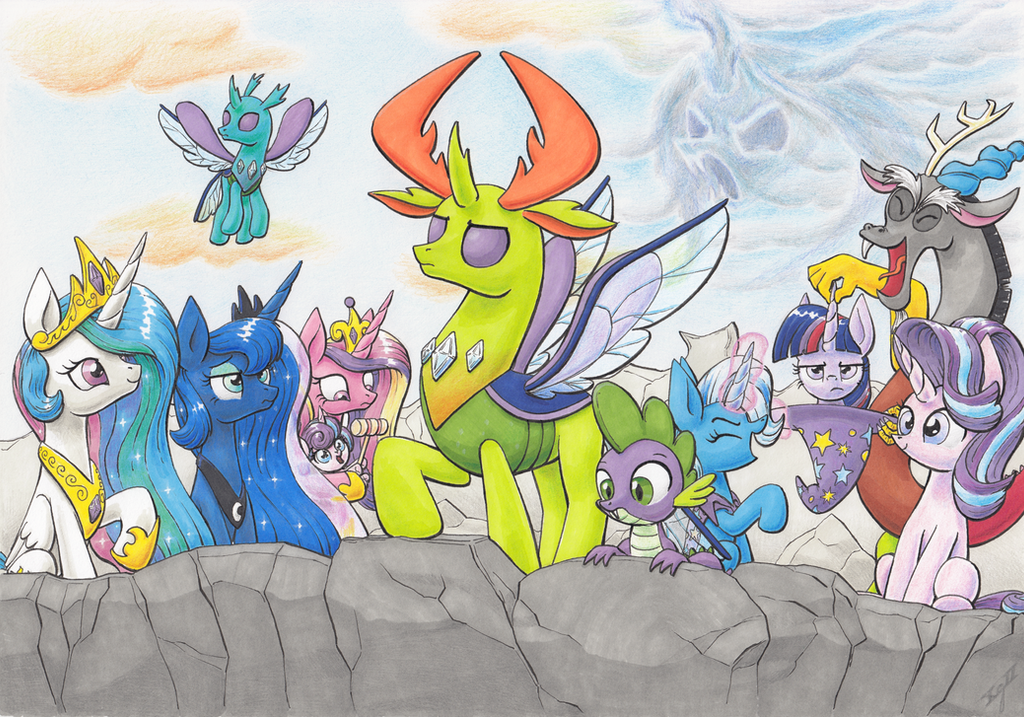 Brave New Hive by XeviousGreenII