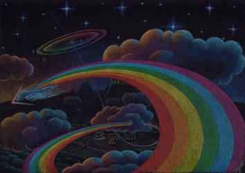 Rainbow in the Dark by XeviousGreenII