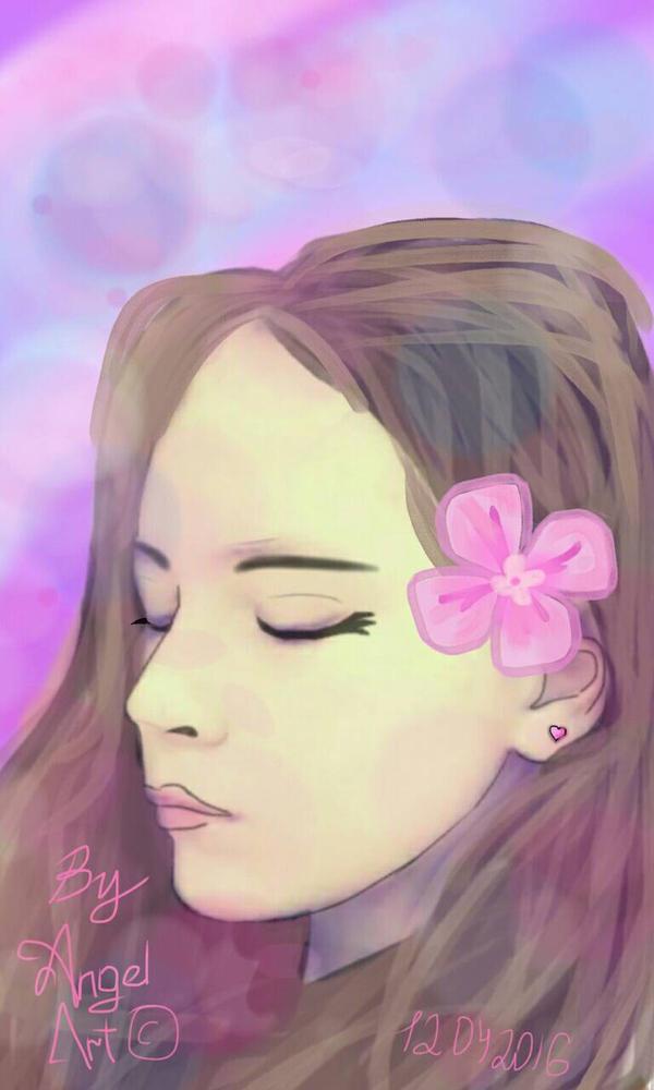 Girl  by Neo-Angel-Art