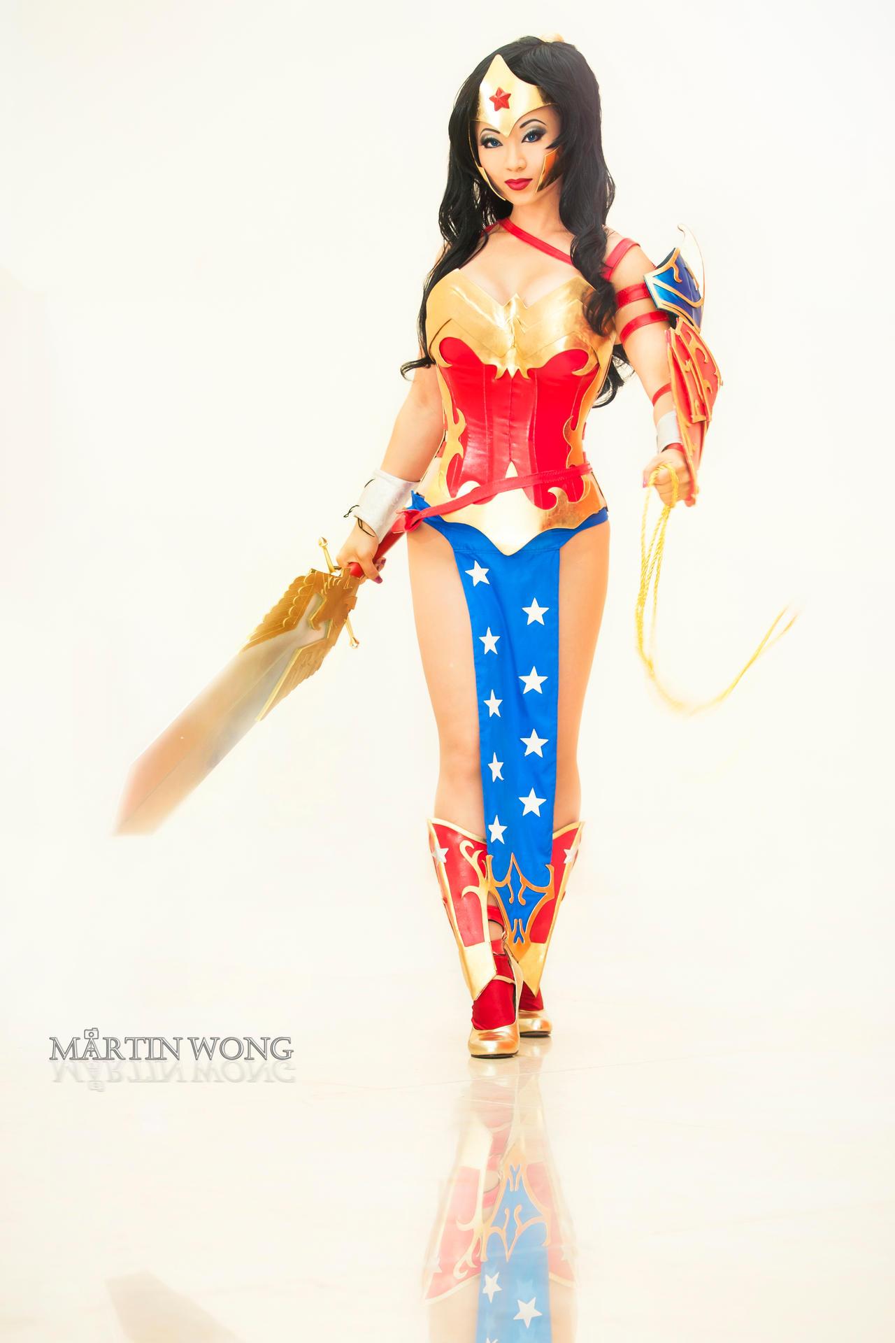Goddess of Themyscira by MartinWongArts