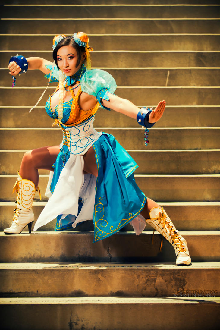 Art Nouveau Chun Li Cosplay by MartinWongArts