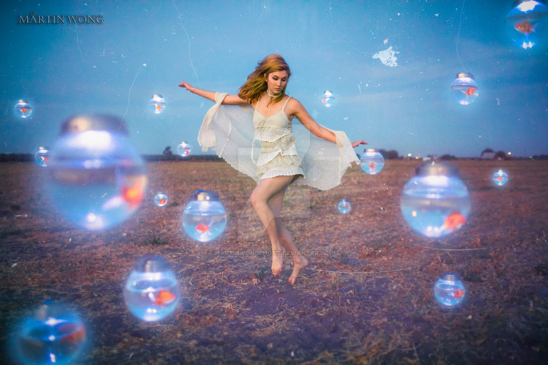 Glow Fish by MartinWongArts