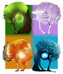 Four Elemental Powers (CLOSED)