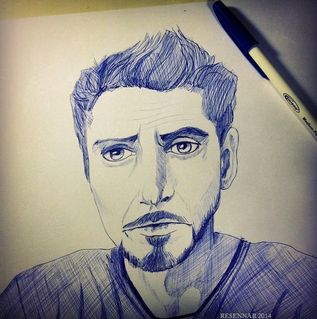 Robert Downey Jr. by Resennar