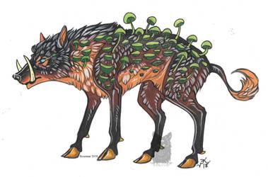 Shroom Boar by Resennar