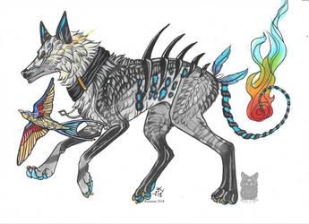 Arkyn and Finn by Resennar