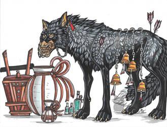 Sake Werewolf 2019 by Resennar