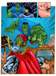 Avengers Pge 64 Colours by WarwickDoolan71