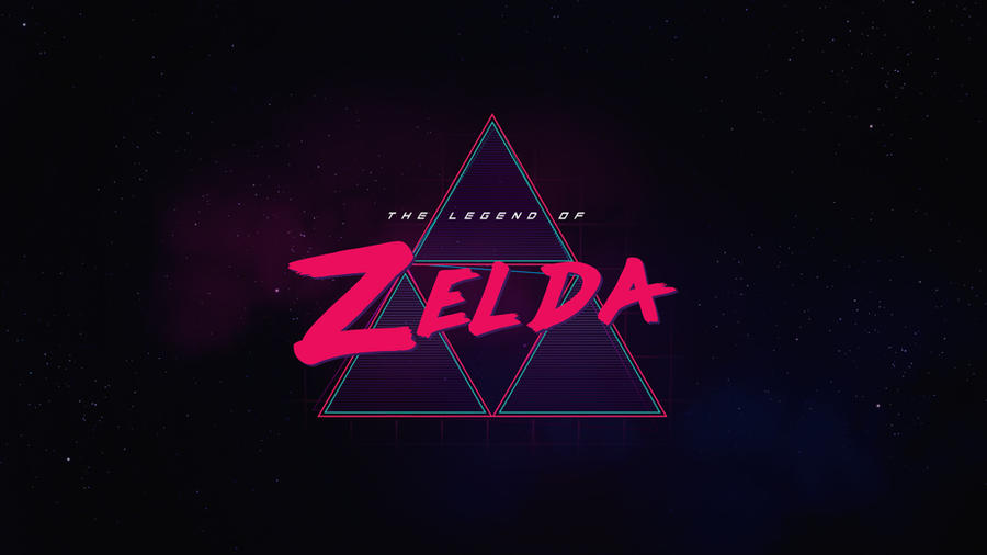 The Legend of Zelda Synthwave by byWizards on DeviantArt