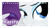 MLP Rarity stamp by Schwarz-one