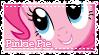 MLP Pinkie Pie stamp by Schwarz-one