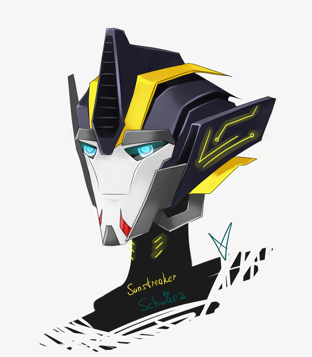 TFP Sunstreaker (head design) by Schwarz-one on DeviantArt