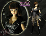 Young Warrior Princess Xena Custom Doll JVCustoms by jvcustoms