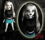 Monster High Frankie Stein Custom OOAK Doll