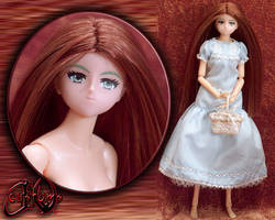 Volks Momoko Springtime Girl Custom Doll by jvcustoms