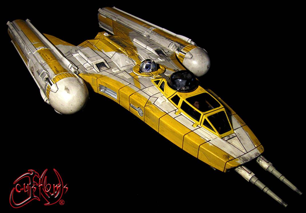 AUCTION Star Wars Clone Wars Custom Y-Wing by jvcustoms