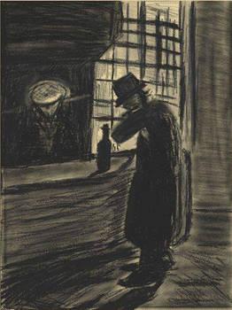 Man in a Village Inn