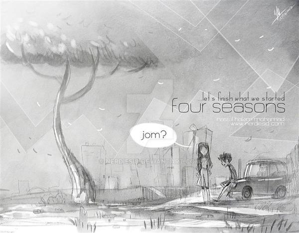 Four Seasons by nerdiesid