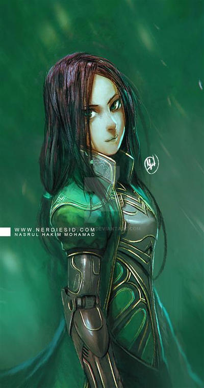 Lady Green by nerdiesid