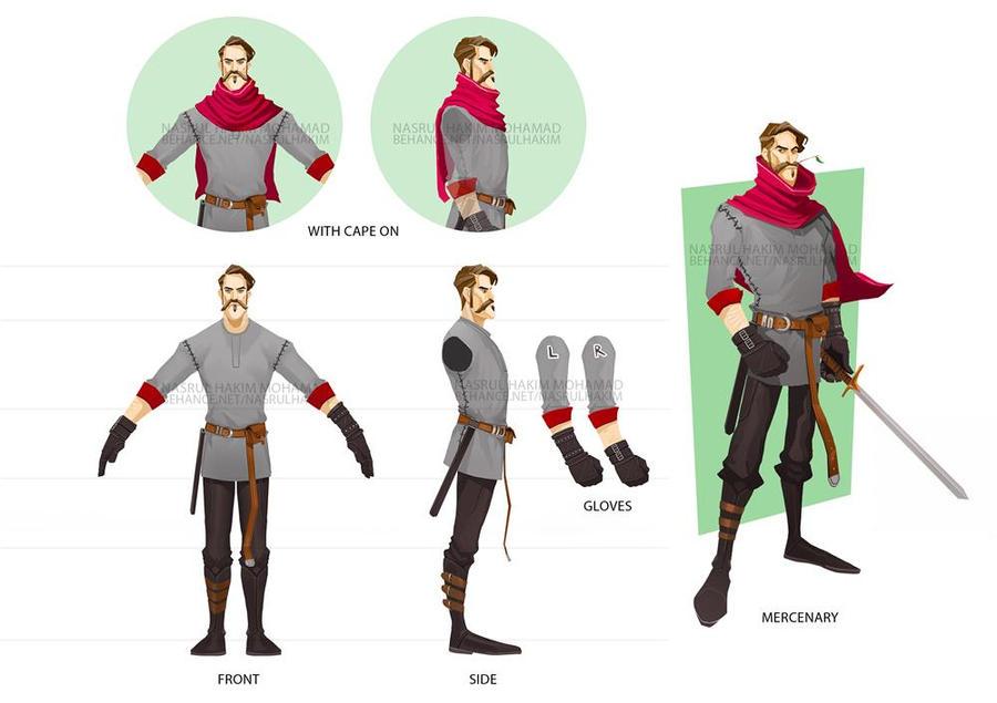Mercenary by nerdiesid