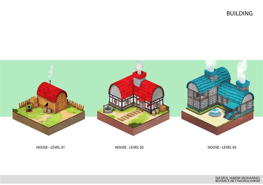Buildings Game art by nerdiesid
