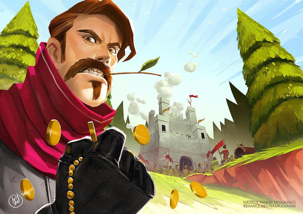 Game Illustration by nerdiesid
