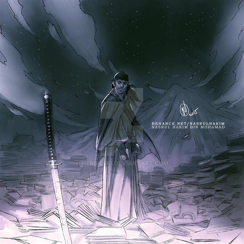 Samurai by nerdiesid