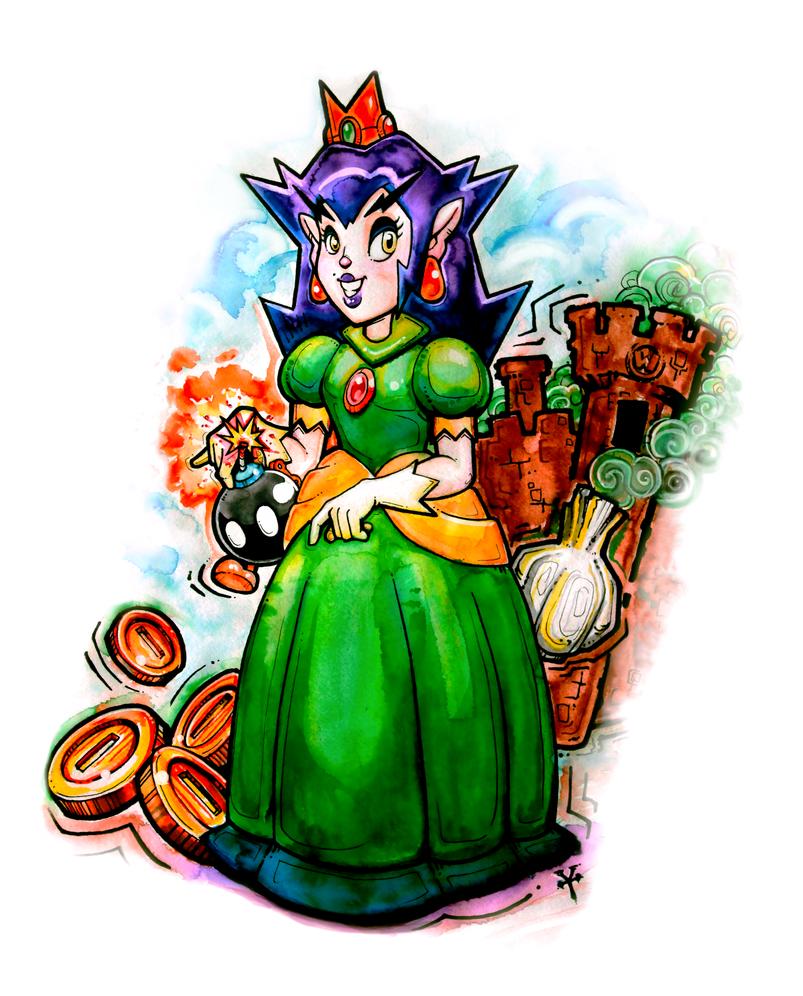 Princess Warupeach by NOWorTREVOR
