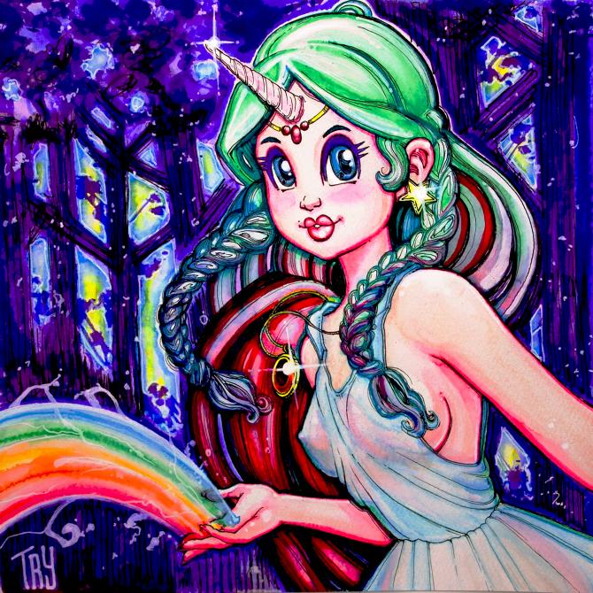 Unicorn Magic by NOWorTREVOR