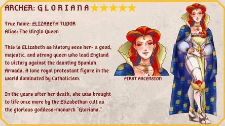 Servant Idea: Elizabeth I by Krougen