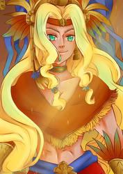 Quetzalcoatl by Krougen