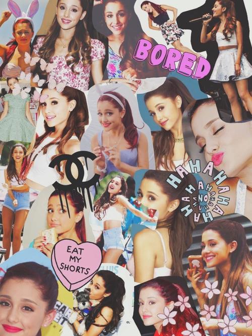 Collage de Ariana Grande {tipo Tumblr} by AgosAmpudiaXD on ...