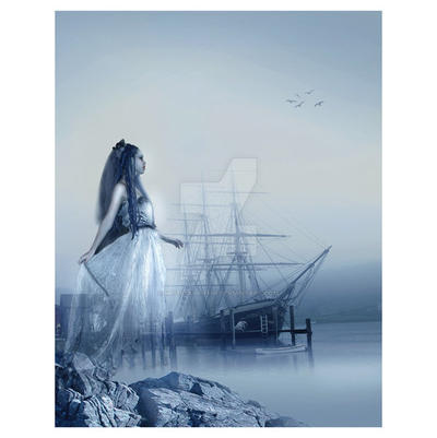 Ghost Ship by MelissaGriffin