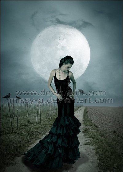 La dame du clair de lune by MelissaGriffin