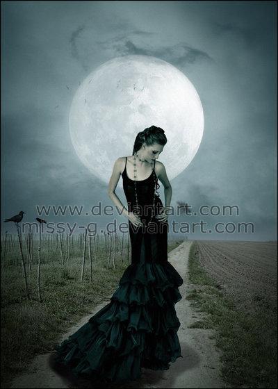 La dame du clair de lune by MelissaGriffin