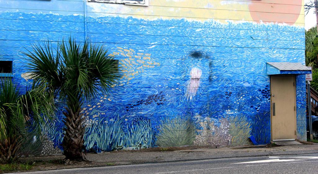 ocean graffiti