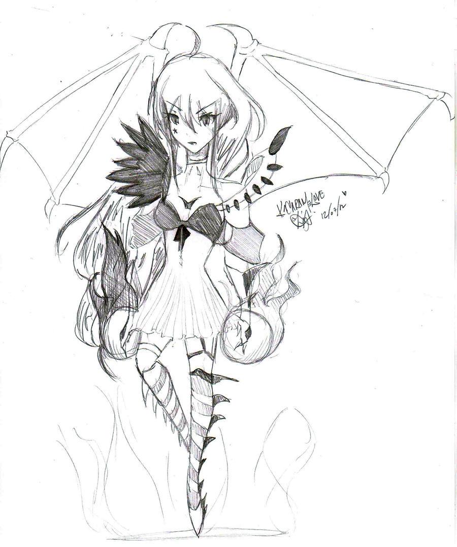 Dark angel drawings the image kid has it for Dark angel coloring pages
