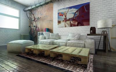 Contemporary interior by bizkitfan