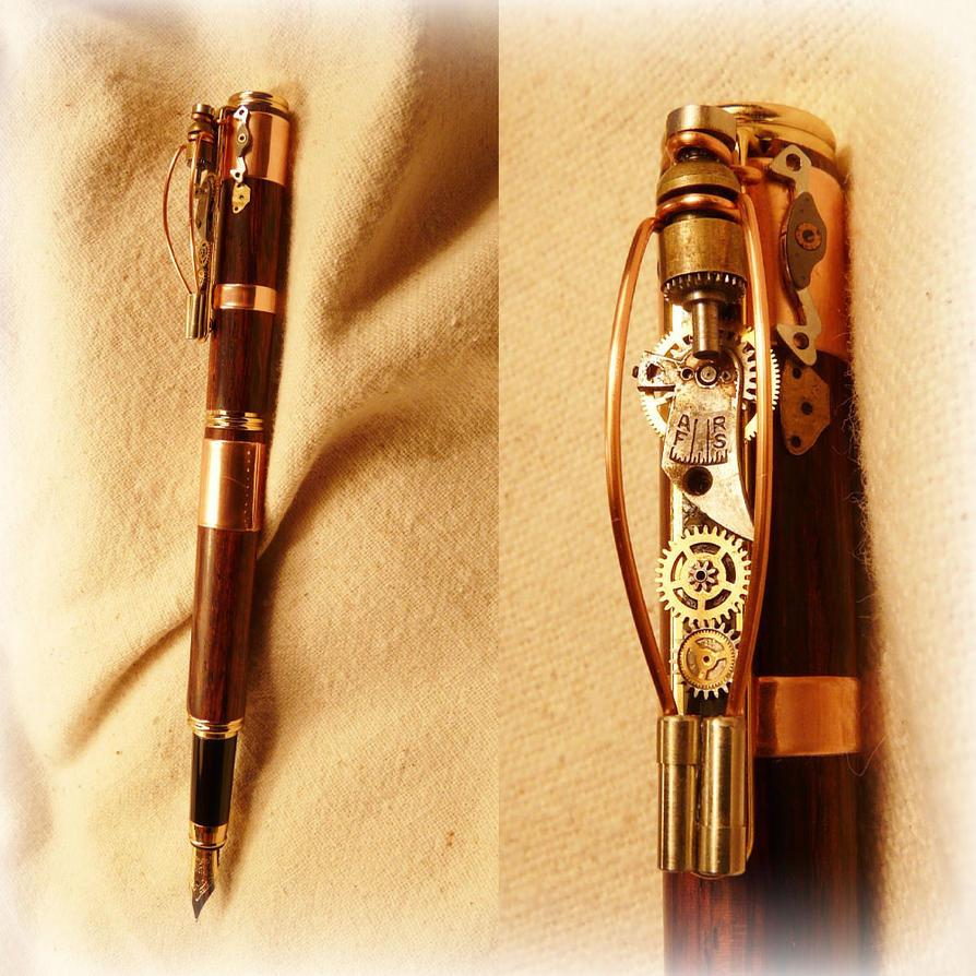 Стимпанк ручка (1 фото) - Разное - могут которые