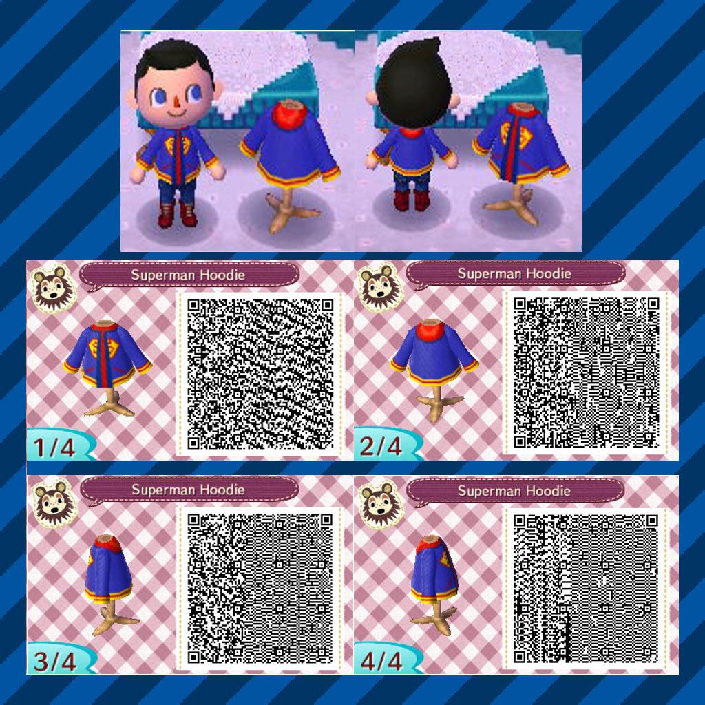 ac nl qr code superman jacket by enteh on deviantart. Black Bedroom Furniture Sets. Home Design Ideas