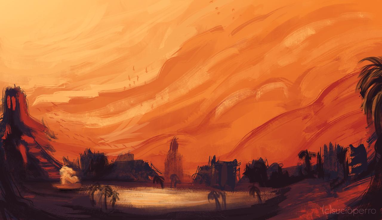 City Of Gods by SucioPerro