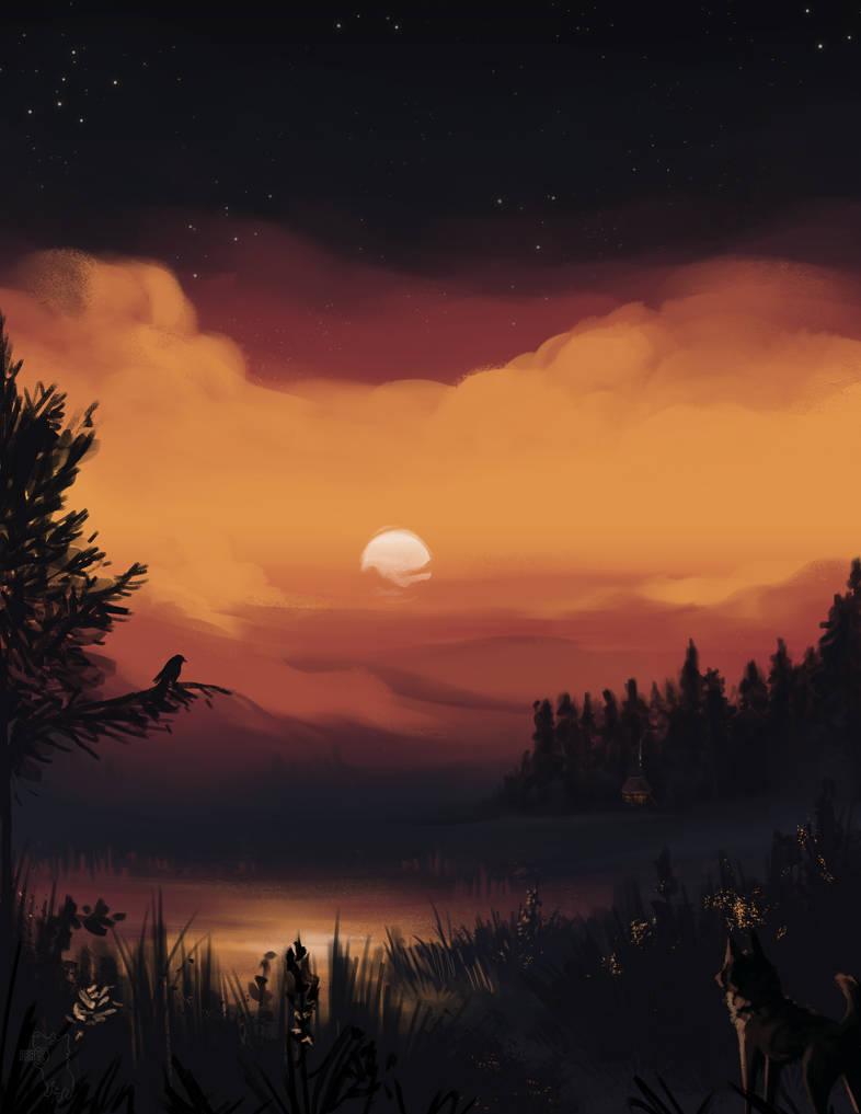 The Suns Gettin Low by SucioPerro