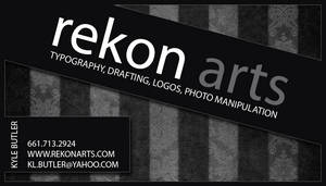 Rekon Arts Buisness Card 2