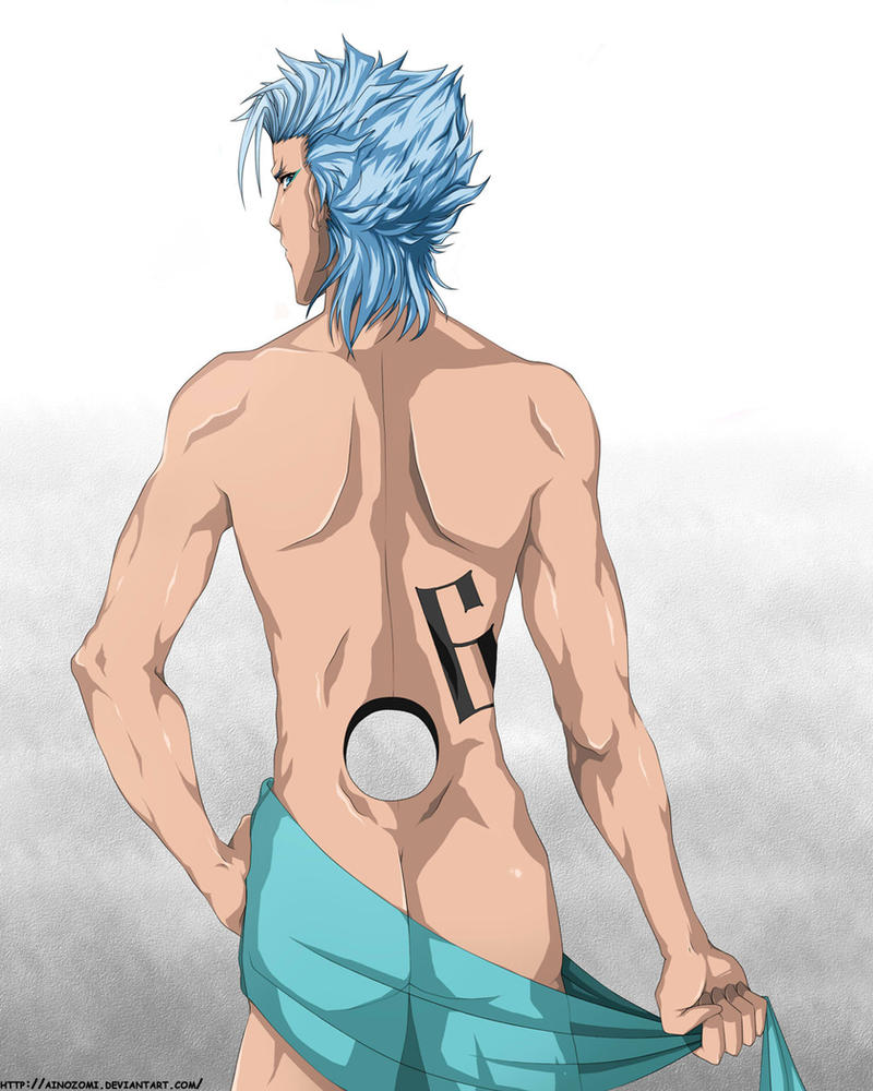 The body of Grimmjow by Ainozomi