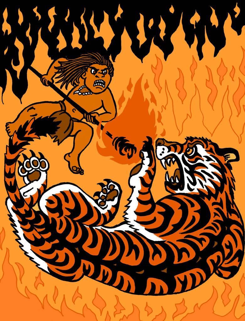 Orange - 'Burning Bright' by The-Darkwolf