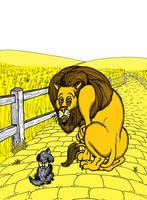 Yellow - 'Fraidy Cat by The-Darkwolf