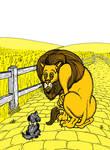 Yellow - 'Fraidy Cat