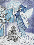Blue - The Fairy with the Azure Hair